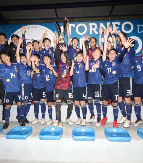 U-16 女子サッカー日本代表優勝
